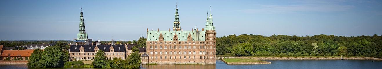 Frederiksberg Slot udsigt fra Sløtssoepalæet